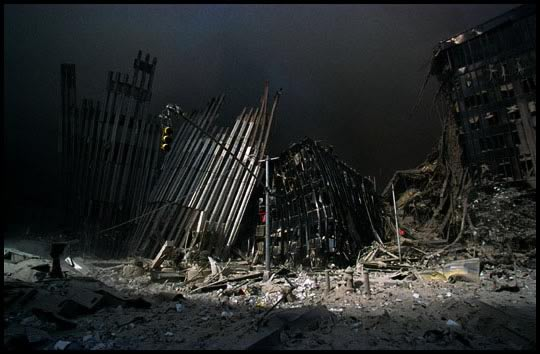 Collapse of World Trade Center 2001